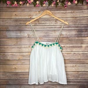 American Eagle Outfitters Beaded Tank Top